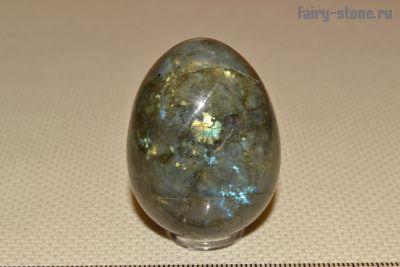 Яйцо из камня лабрадор (45мм)