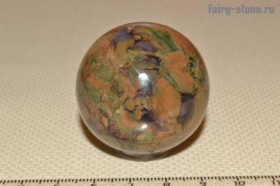 Шар из камня риолит (липарит) (40мм)